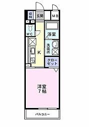 プレ・アビタシオン春日部I[0406号室]の間取り