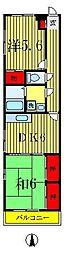 パークサイド22[3階]の間取り