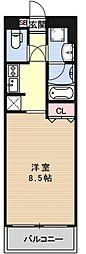 プリモ・レガーロ西京極[607号室号室]の間取り