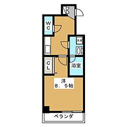 ベラジオ京都洛南グルーブ[3階]の間取り
