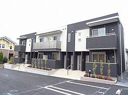 福岡県北九州市八幡西区東鳴水4丁目の賃貸アパートの外観