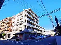 東京都練馬区石神井台8丁目の賃貸マンションの外観