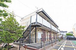 埼玉県川口市戸塚境町の賃貸アパートの外観