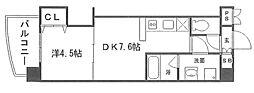 KDXレジデンス新大阪[6階]の間取り