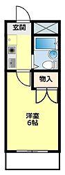 RX豊田(アールエックス)[402号室]の間取り