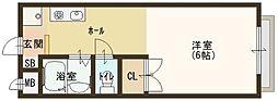 シャンソン和泉中央[2階]の間取り