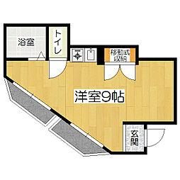 シャトーKAZUKI[4階]の間取り