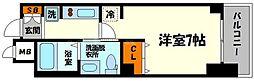 大阪府大阪市東淀川区東中島3の賃貸マンションの間取り