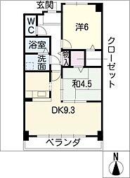 プレシャス・コート[5階]の間取り