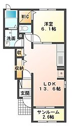 SK PLACE[1階]の間取り