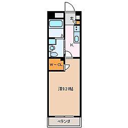 GRAN DUKE鈴鹿[7階]の間取り