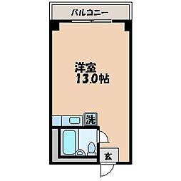 ピュア21[706号室]の間取り