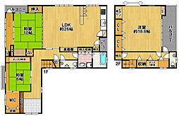 南恩加島1丁目マンション[3階]の間取り