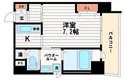 アクアコート2[10階]の間取り