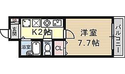 南滋賀ヒューマンハイツ[207号室号室]の間取り