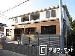 愛知県豊田市上郷町市場の賃貸アパートの外観