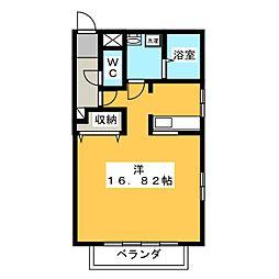 VISAGE笠原[2階]の間取り