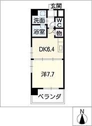 新栄アーバンハイツ[5階]の間取り