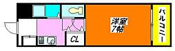 ヴィブレ・ハイム 202号室[2階]の間取り