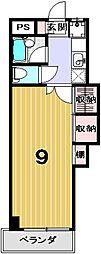 学生の家・紫野[302号室]の間取り