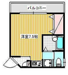 深沢戸建2階[2階]の間取り