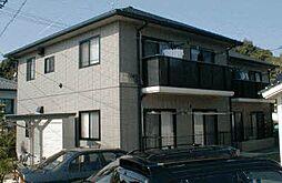 広島県広島市安佐北区口田1丁目の賃貸アパートの外観