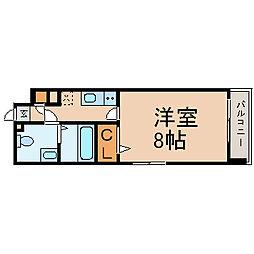 プレサンスmiu新栄(プレサンスミュー新栄)[501号室]の間取り