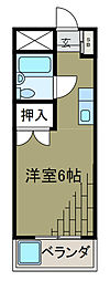 神奈川県川崎市麻生区片平2丁目の賃貸マンションの間取り