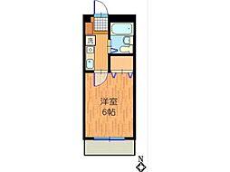 フレグラントII[3階]の間取り