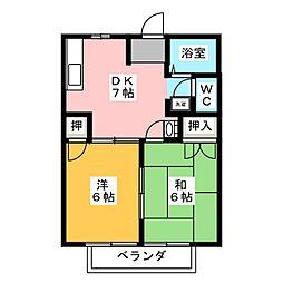 マザーグースI[2階]の間取り