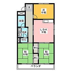 メゾンWith[2階]の間取り