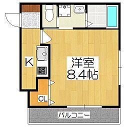 AYASOFYA(アヤソフィア)[103号室]の間取り