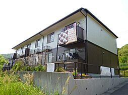 岡山県倉敷市下津井3の賃貸アパートの外観