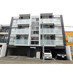 北海道札幌市西区二十四軒三条2丁目の賃貸マンションの外観