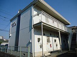 広島県福山市木之庄町5丁目の賃貸アパートの外観