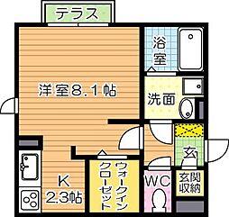 仮)D-room菅原[1階]の間取り