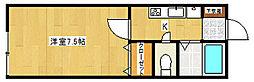 グランシャリオII[1階]の間取り