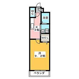 インフィニティ[1階]の間取り