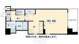 エイペックス京都東山三条[101号室]の間取り
