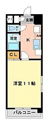 レージュAsano[2階]の間取り