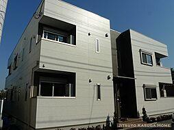 東京都台東区谷中6丁目の賃貸アパートの外観