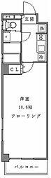 アンベリール新宿[9階]の間取り