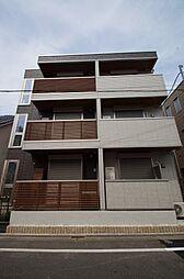 東京都大田区久が原3丁目の賃貸アパートの外観