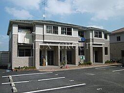 東京都青梅市友田町5丁目の賃貸アパートの外観