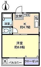 室井ビル[2階]の間取り