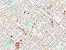 地図,1DK,面積25.11m2,賃料3.6万円,札幌市営東西線 琴似駅 徒歩9分,札幌市営東西線 二十四軒駅 徒歩20分,北海道札幌市西区山の手三条3丁目3番12号