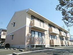 静岡県磐田市下本郷の賃貸アパートの外観