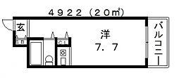 朝日プラザ天王寺西パサージュ[9階]の間取り