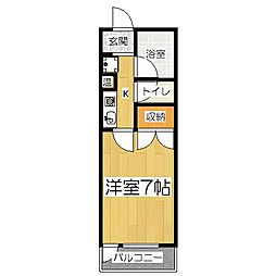 メゾン音羽[4階]の間取り
