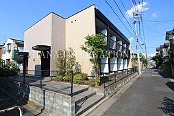東京都足立区北加平町の賃貸アパートの外観